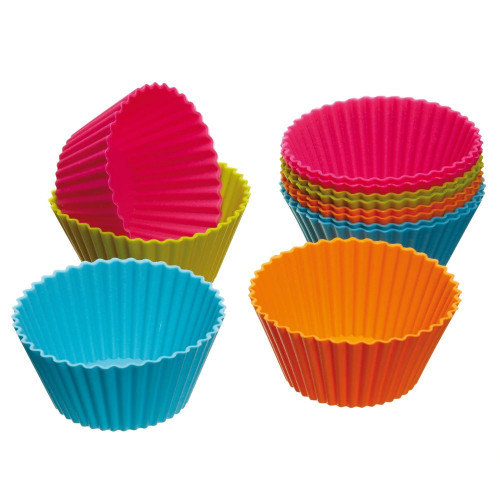 Silicone Cupcake Baking Cups - 12 Pack