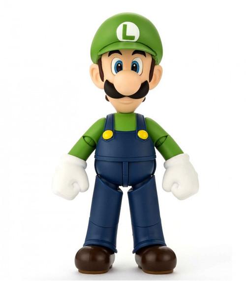 Cake Topper-Super Mario Luigi Figurine