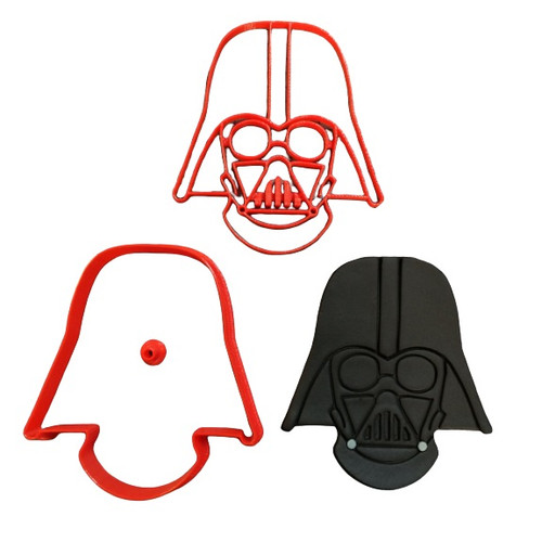 Darth Vader Cookie Cutter and Embosser