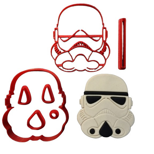 Stormtrooper Cookie Cutter and Embosser