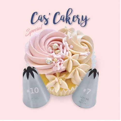 Cas Cakery 2pc Piping Set