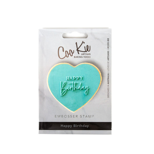 Raised Fondant Embosser-HAPPY Birthday