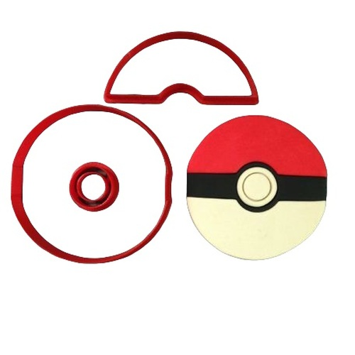 Pokemon Ball Cookie Cutter