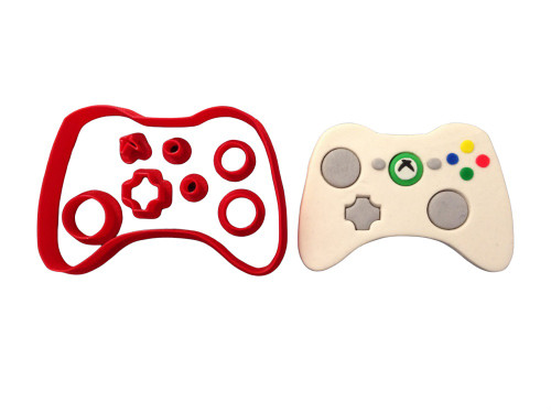 Gaming Controller Cookie Cutter