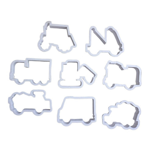 Construction Transport 8pc Plastic Cutter