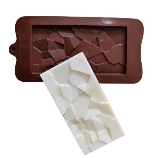 Broken Glass Chocolate Bar Mold