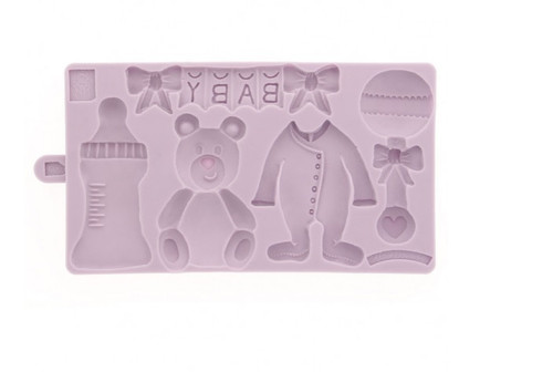 Baby Bear Silicone Mold