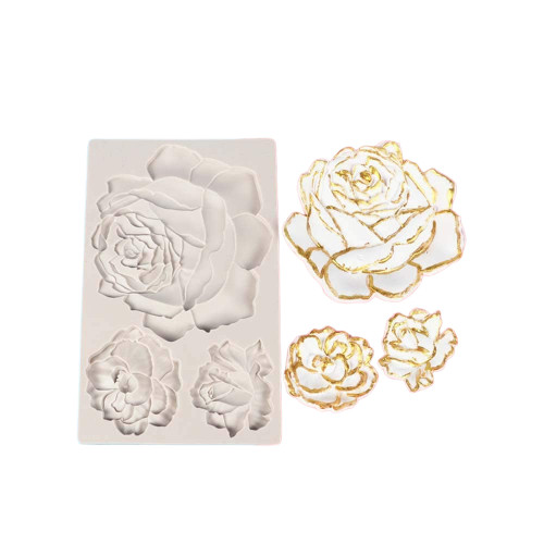 Roses Silicone Mold