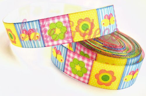Kids Floral Ribbon 15mm