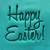'Happy Easter' Embosser Large