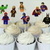 Cupcake Toppers 24pc - Lego Superhero