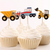 Trucks & Tractors Toppers 24pc