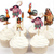Cupcake Toppers 24pc - Moana Toppers