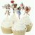 Cupcake Toppers - Fairies & Flowers 20pc