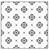 Camille Stencil pattern Silhouette
