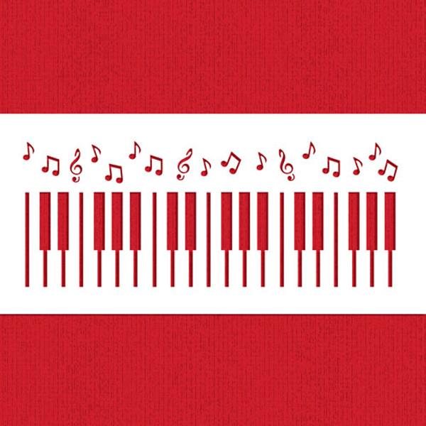 Piano Keys Cake Side C951