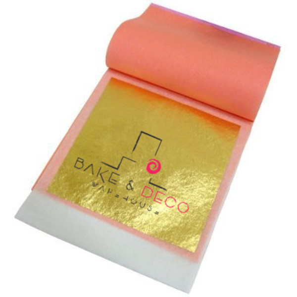 Gold Leaf Transfers 24 pack