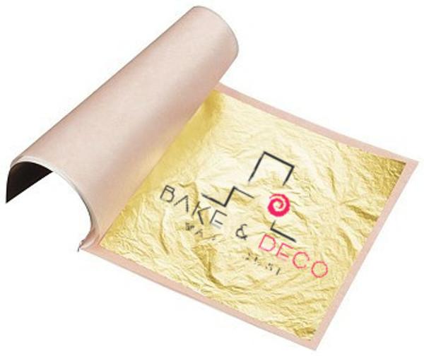 Edible 24K Gold Leaf Sheet 25pk
