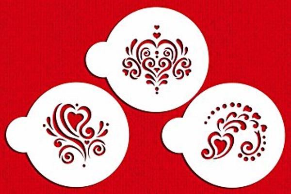 Designer Stencils C810 Amore Cookie Set