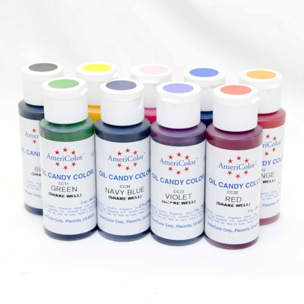 AmeriColor Oil Candy Colour 2oz