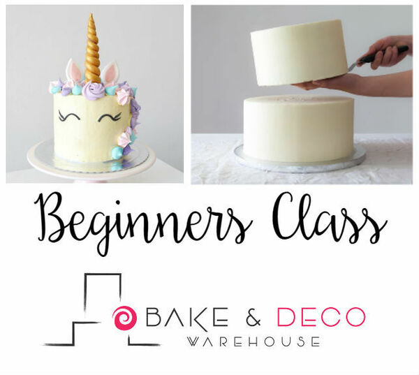 Beginners Cake Decorating Class FEBRUARY 2020