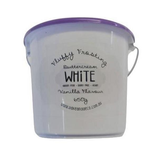 Fluffy Frosting 650g - White