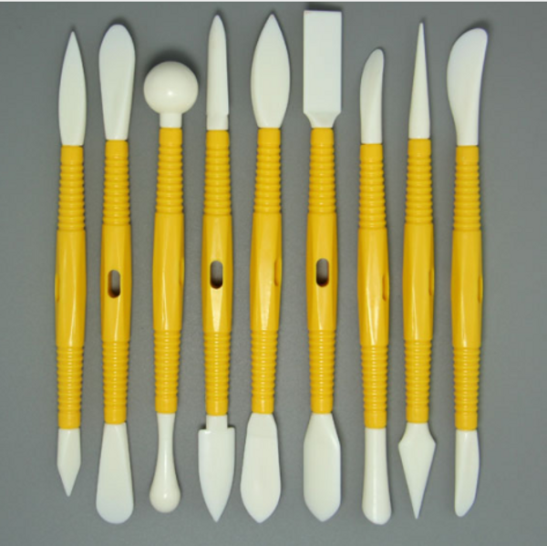 9pc Set Modelling Tools for Cake Decorating