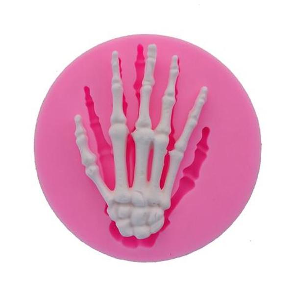 Bone Skeleton Hand Silicone Mold