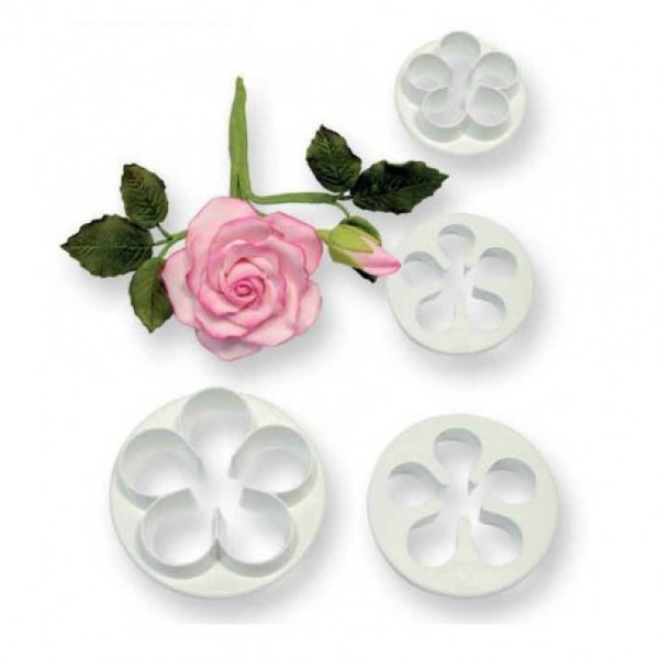 Blossom 4pc Plastic Cutter Set