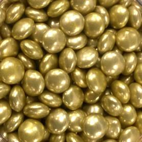 Gold Chocolate Gems