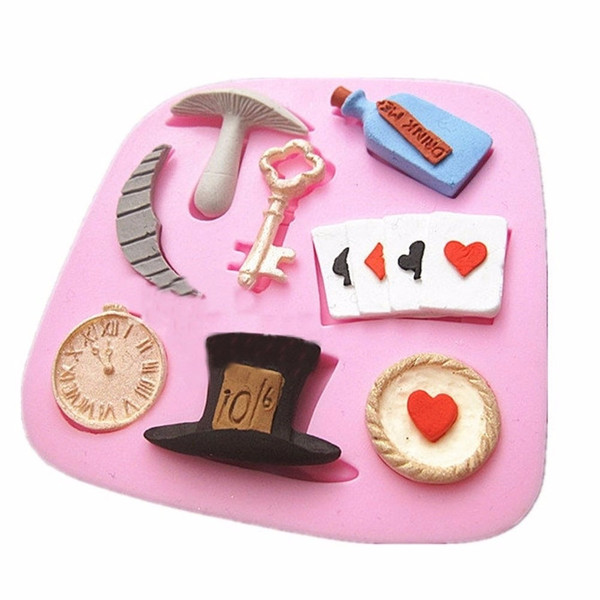 Mad Hatter / Alice in Wonderland Silicone Mould