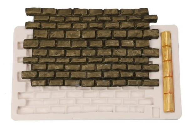 Brick Wall Silicone Mold