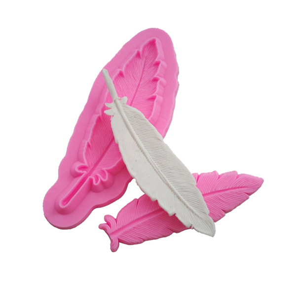 Silicone Mould - 2pc Feather Press