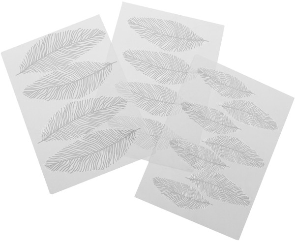 Feathers Texture Sheet Set