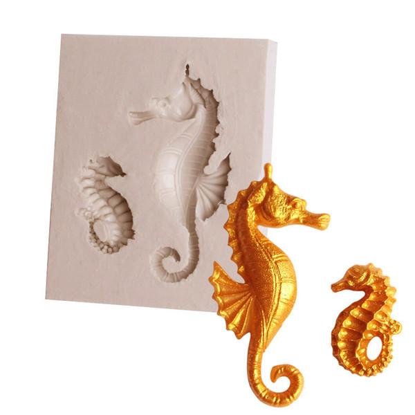 Seahorse Silicone Mold 2 pc