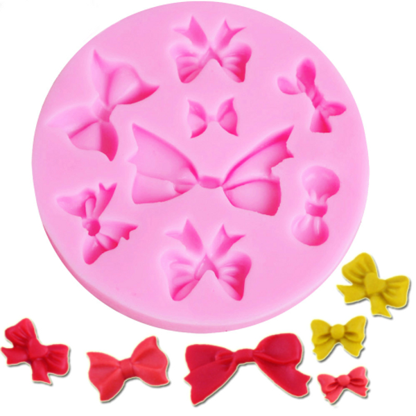 Bows 8pc Silicone Mold