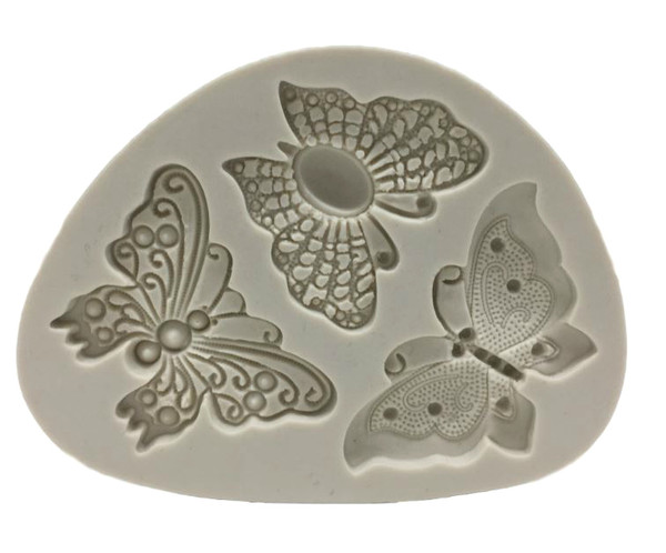 Butterfly Fancy 3pc Silicone Mould