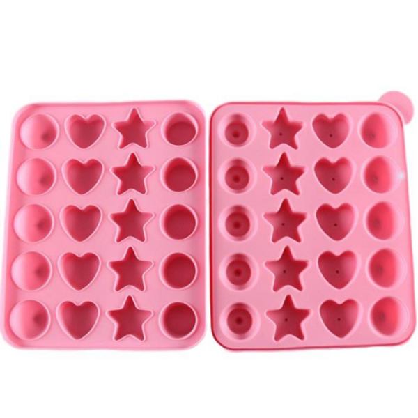Cake Pop Silicone Mold - Various Shapes
