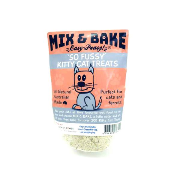 """Mix & Bake for Pets - """"So Fussy"""" Kitty Cat Treats"""