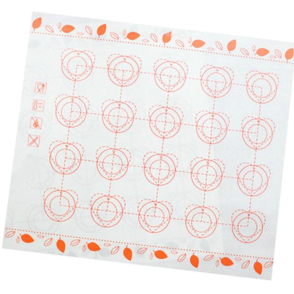 Macaron Baking Mat 35 Cavity / Circles & Hearts