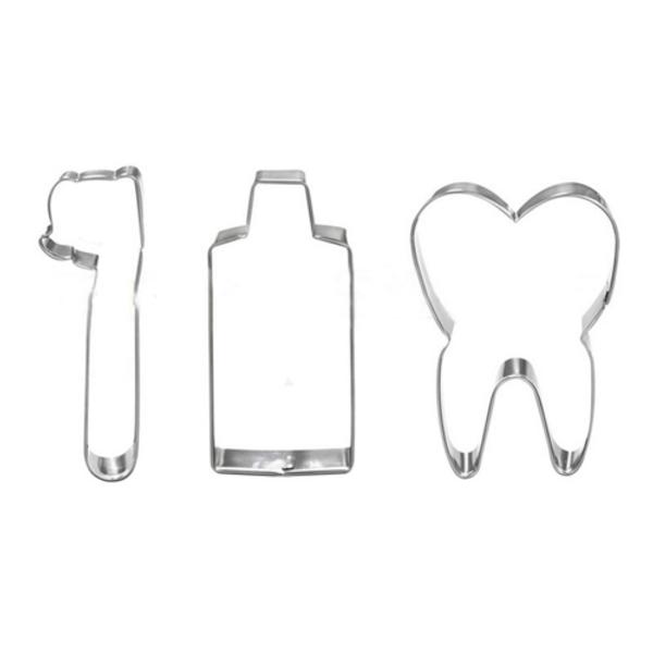 Dental 3pc Tin Plate Cutter Set