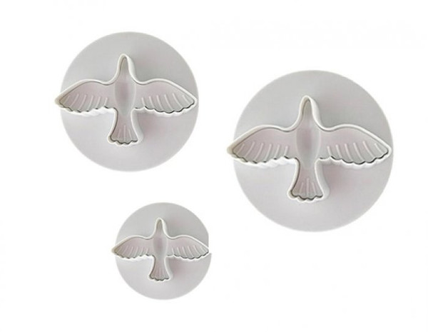 Plunger Cutter -DOVE SET 3PC
