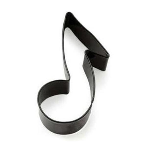 Music Note Tin Plate Cookie Cutter (Fox Run)
