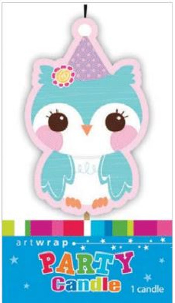 Owl Party Candle