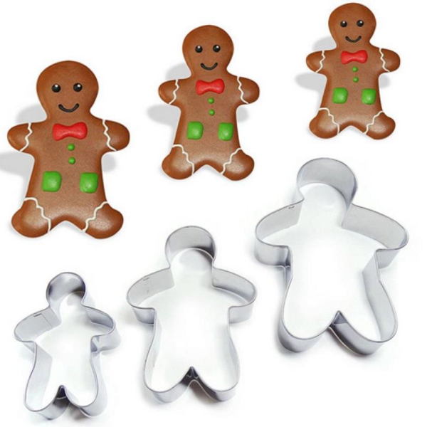 Gingerbread Man Tin Plate Cutter
