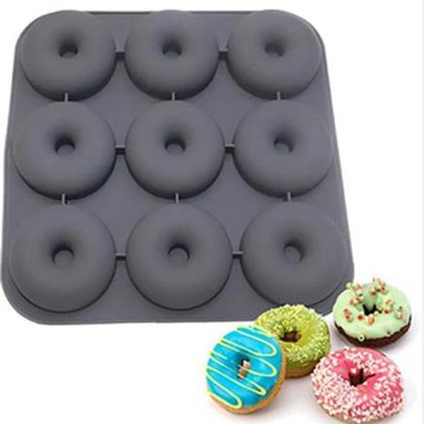 9 Cavity Large Donut Mold