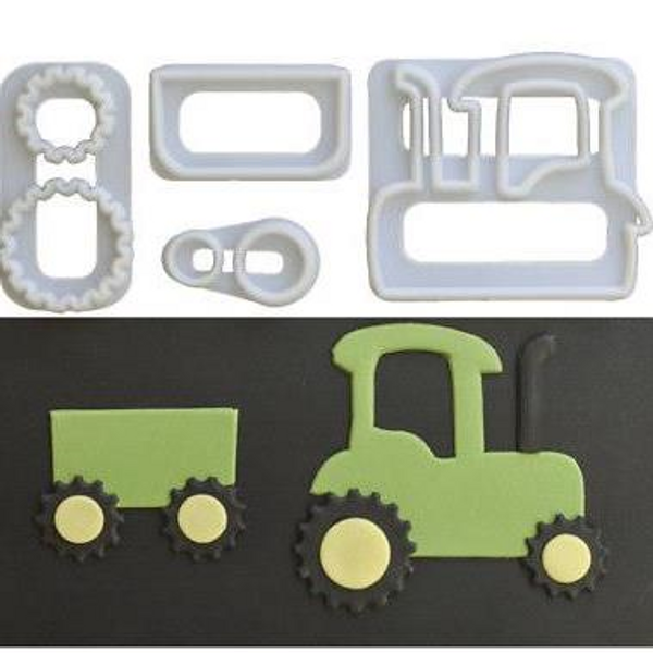 Tractor Cutter Set 4pc