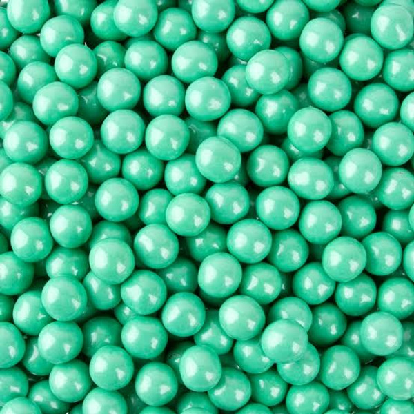 Turquoise Chocolate Pearls 100g