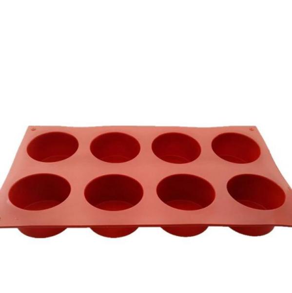 Silicone Mold - CYLINDER / 8 Cavity Deep