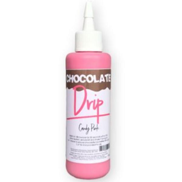 Chocolate Drip- CANDY PINK